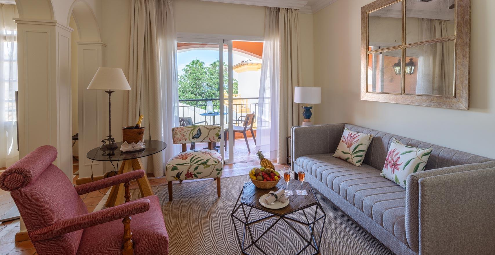 Junior Suite Casas Ducales living room