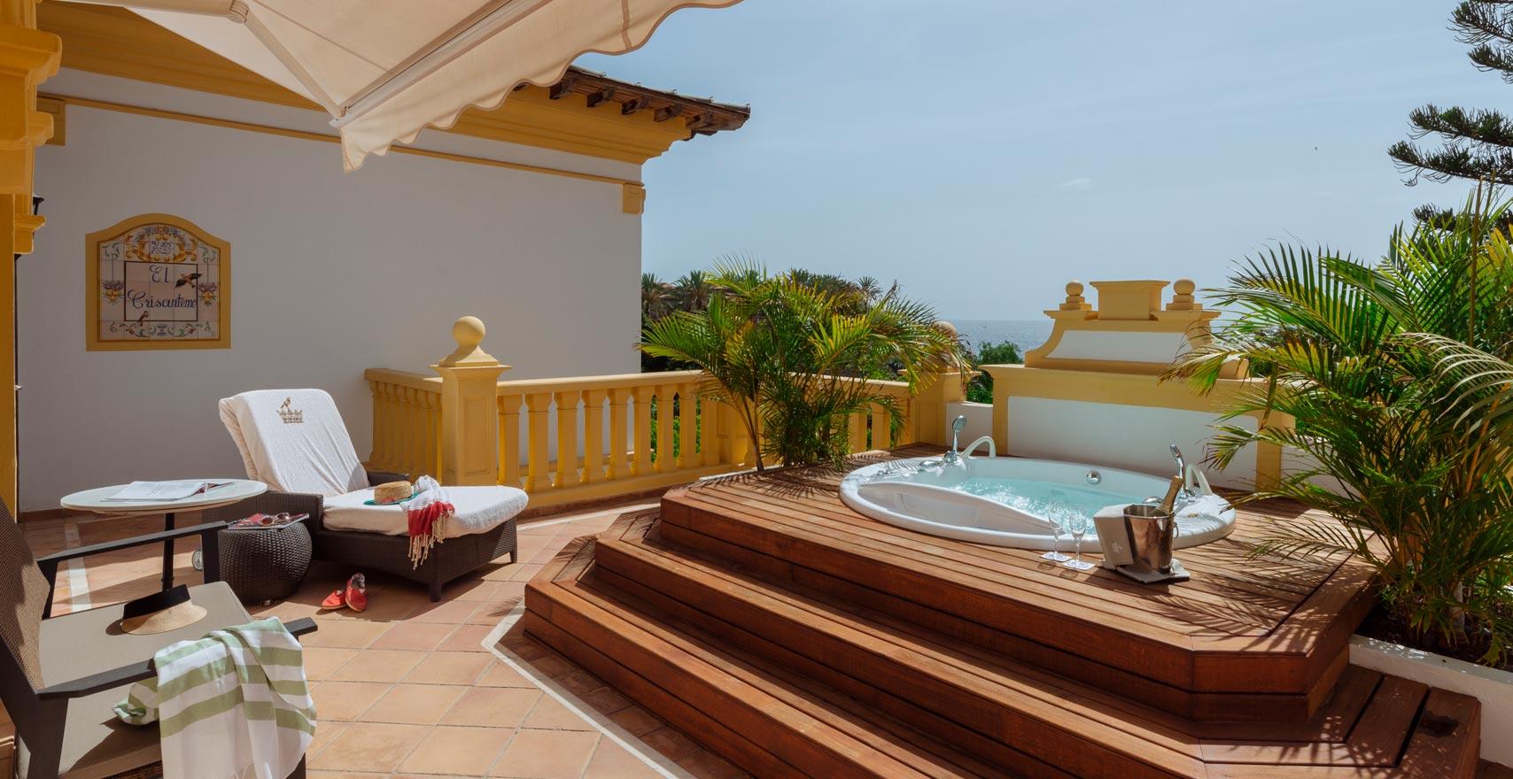 Presidential Suite Casas Ducales terrace