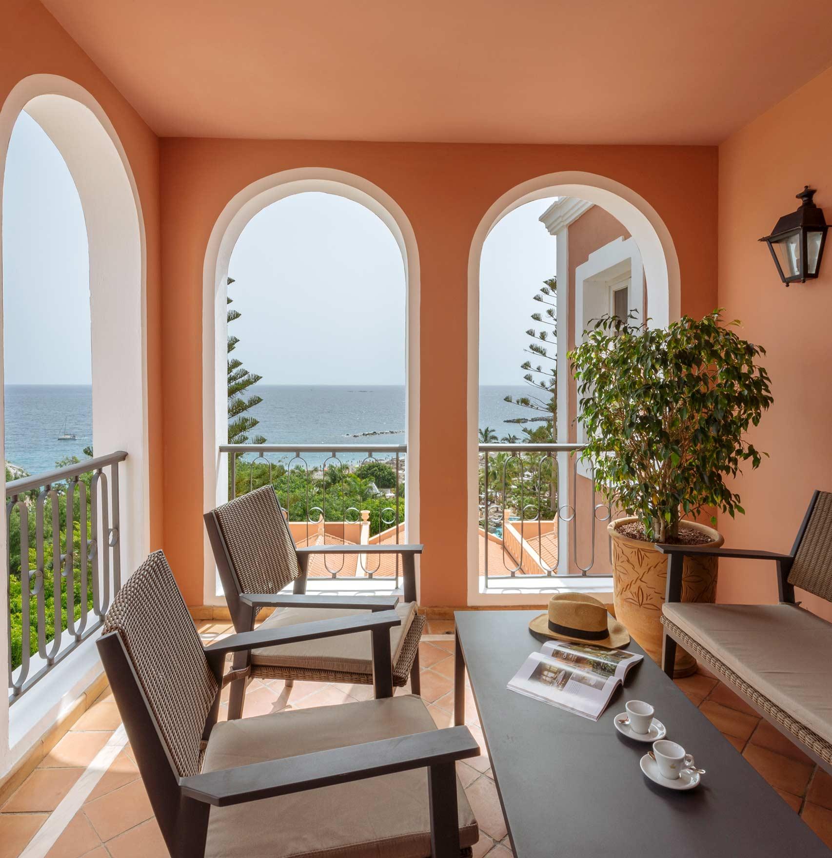 Suite Casas Ducales terrace