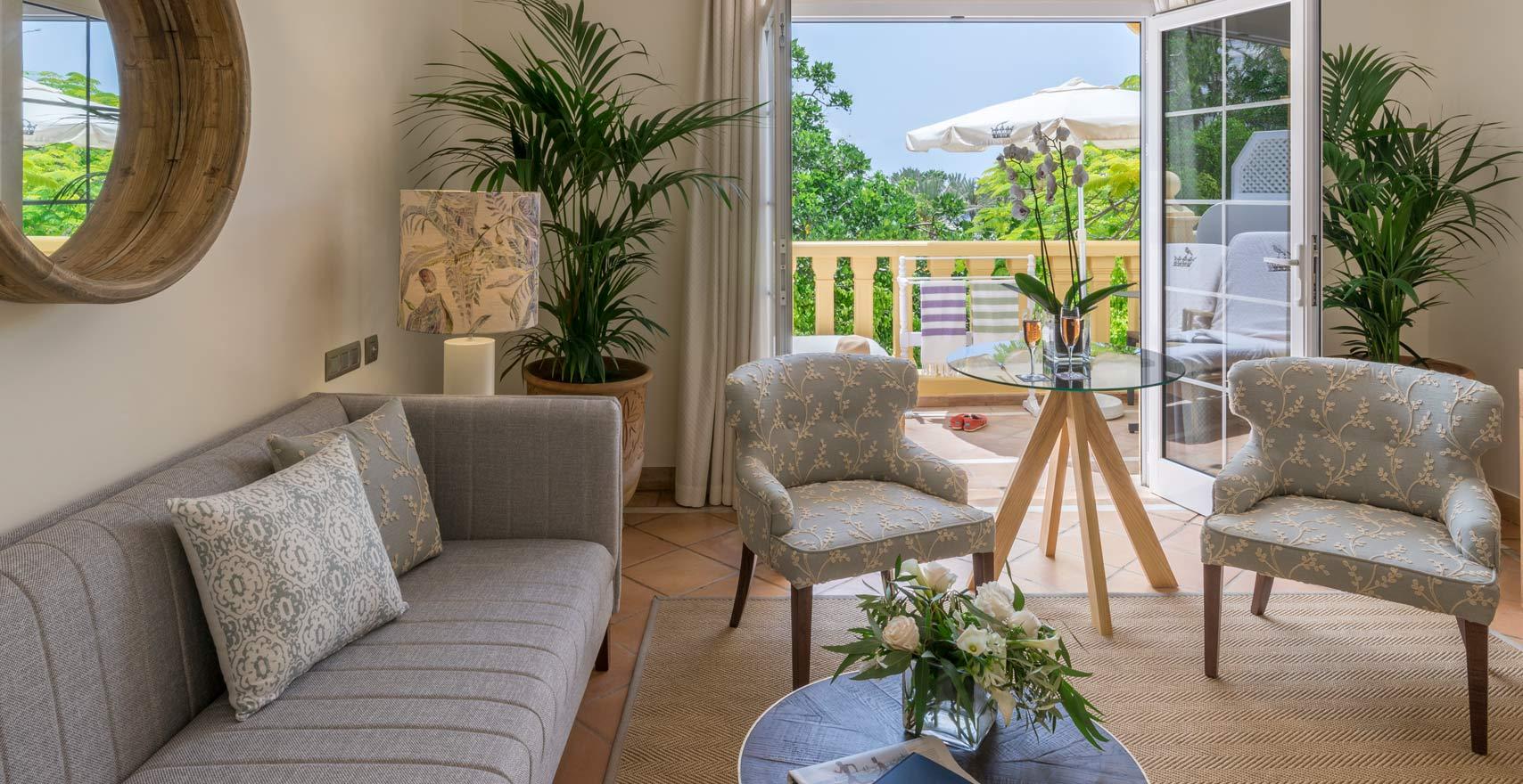 Suite Casas Ducales living room