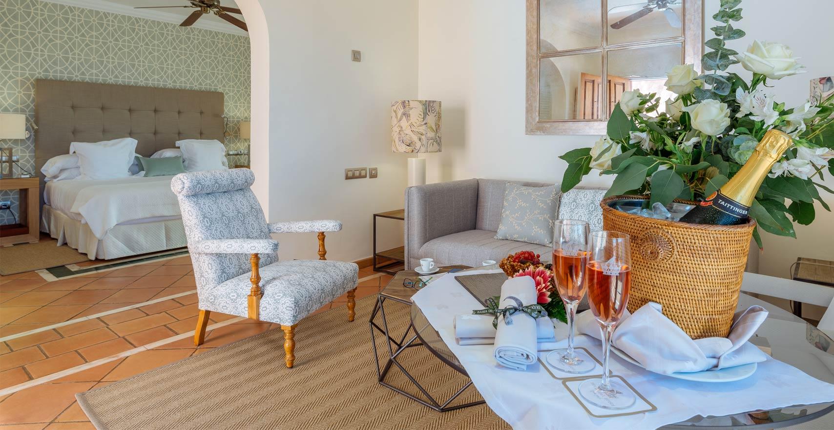 Suite Casas Ducales living room3
