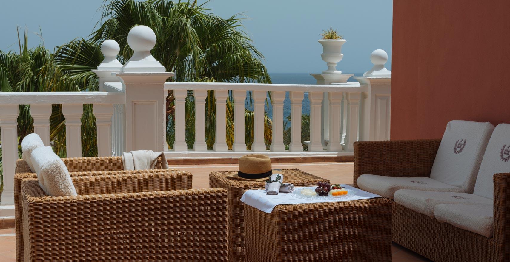 Royal Suite Casas Ducales terrace2