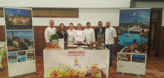 The chefs from Bahía del Duque participate at Gastrosur