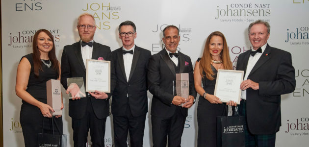 Awards for Excellence 2019 Condé Nast Johansens
