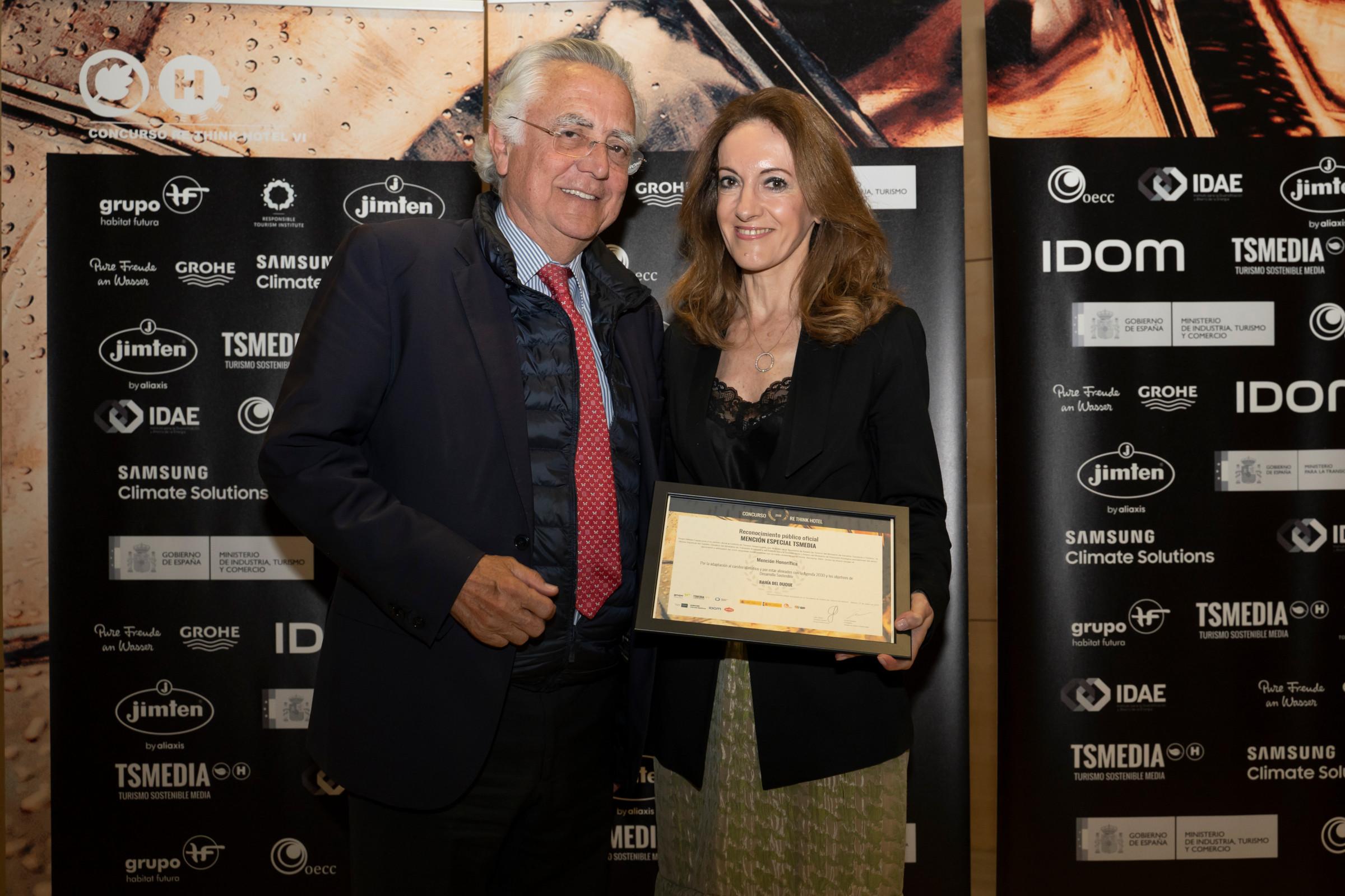 Bahía del Duque es reconocido por los premios Top 10 Re Think como Mejor Proyecto de Sostenibilidad